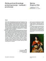 prikaz prve stranice dokumenta Zbirka portreta Hrvatskoga povijesnog muzeja – nastanak i proučavanje